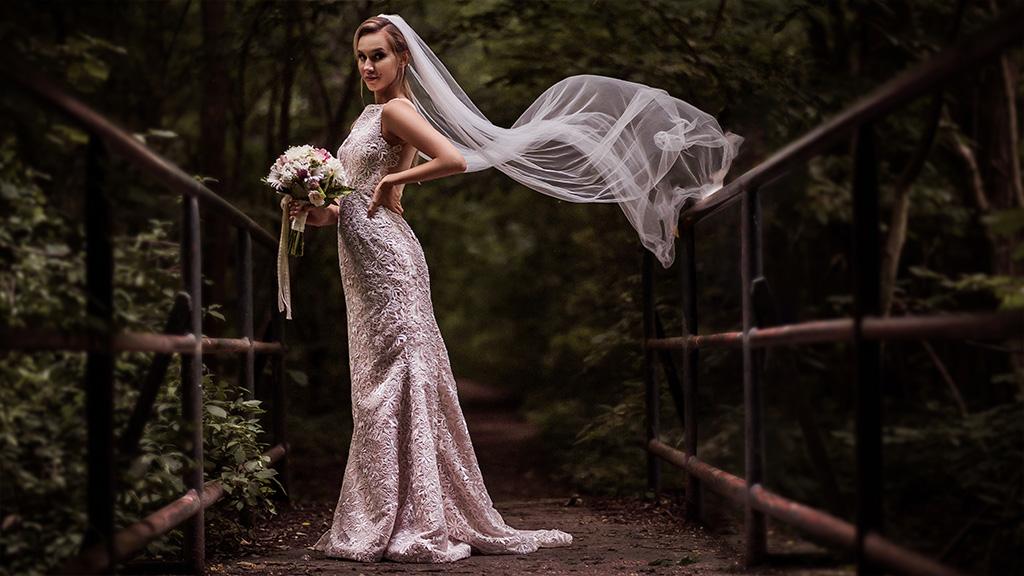 kültéri esküvői fotózás